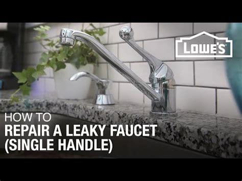 how to fix a leaky single handle bathtub faucet how to fix a leaky faucet with a single handle design doovi