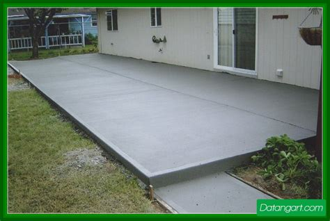 painting concrete patio slab design idea home landscaping