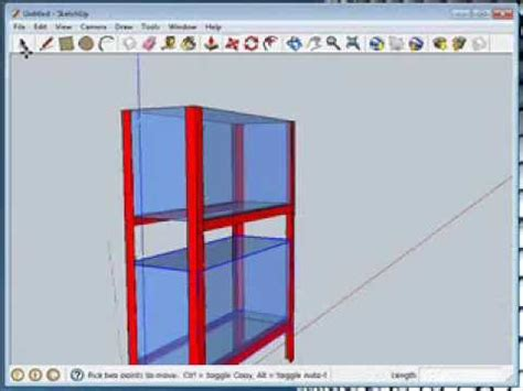 tutorial para usar google sketchup 8 mueble para discus con google sketchup tutorial youtube