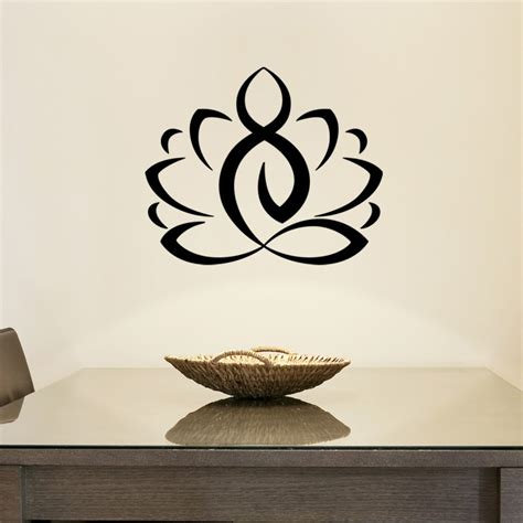 Wall decal ZEN Lotus cheap   Stickers Nature discount
