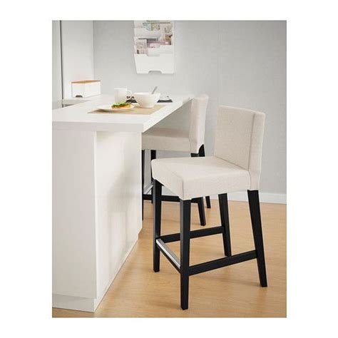 Padded Stool With Backrest by Henriksdal Bar Stool With Backrest Ikea The Padded Seat