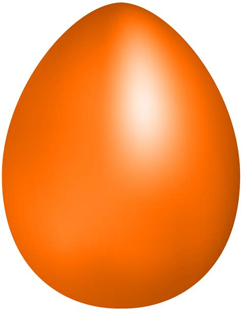 orange easter egg png clip art best web clipart