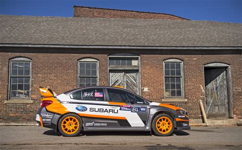 Auto Rally Usa by Subaru To Debut New Rallycross Fighter At New York Auto Show