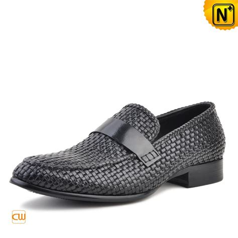 woven loafers mens s woven dress loafers shoes cw750052