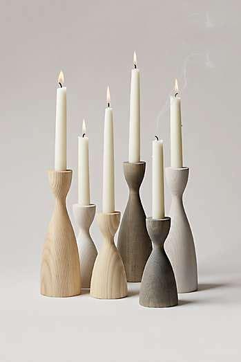 farmhouse pottery candlestick  images farmhouse
