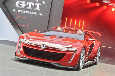 volkswagen gti sports car volkswagen gti roadster vision gran turismo set for gt6