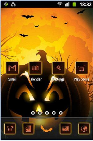 halloween themes for android majorgeeks com majorgeeks