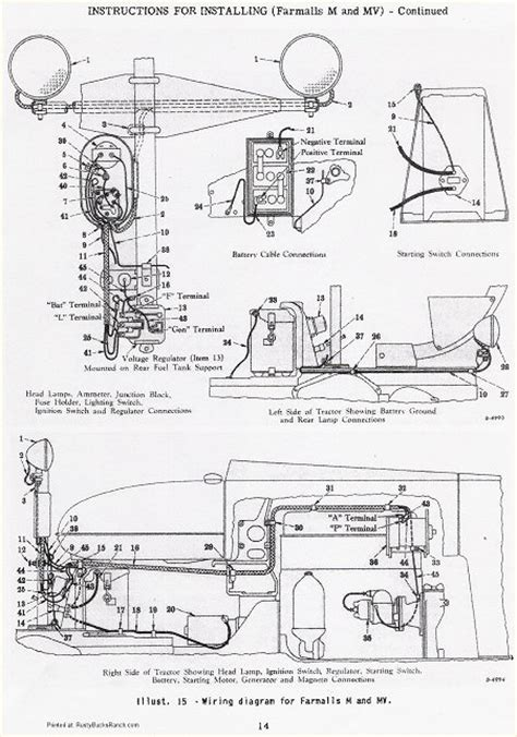 farmall b wiring diagram farmall a transmission schematic farmall free engine