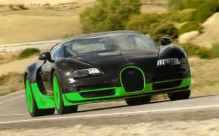 Green Bugatti Veyron Bugatti Veyron Green