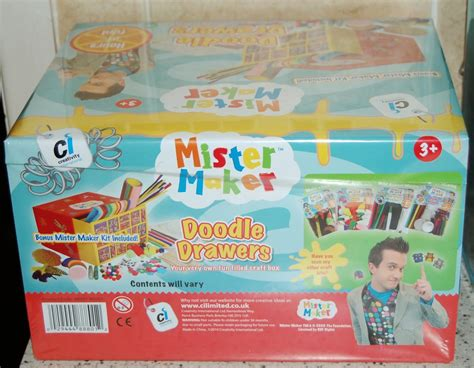 Mister Maker Doodle Drawers by Mr Maker Doodle Drawers Three And Me