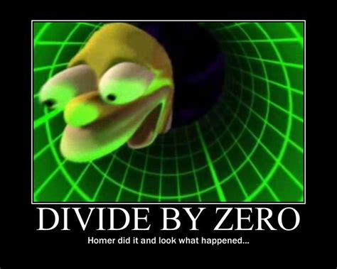 Divide By Zero Meme - image 92606 divide by zero know your meme