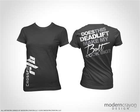 design a crossfit shirt crossfit rtb custom t shirts modern crayon