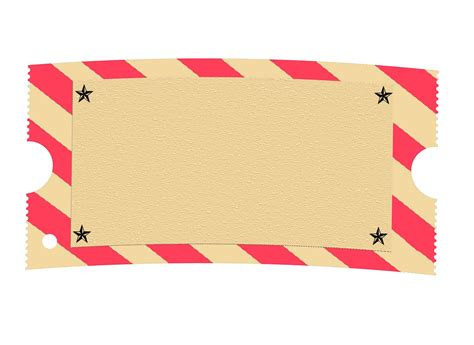 circus ticket template free carnival ticket blank clipart clipart suggest