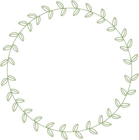 Circle Leaf Border Google Search Chalkboard Inspiration Pinterest Clip Art Frame And Cricut Leaf Border Template