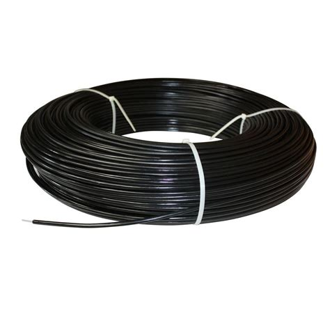 white lightning 1320 ft 12 5 black safety coated