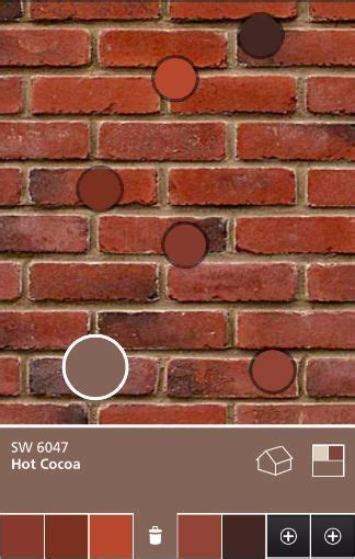 exterior paint colors that go with brick for the