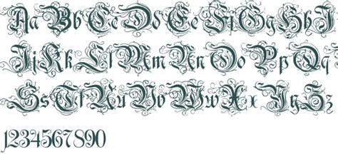 Decorative Font by Image Gallery Decorative Fonts
