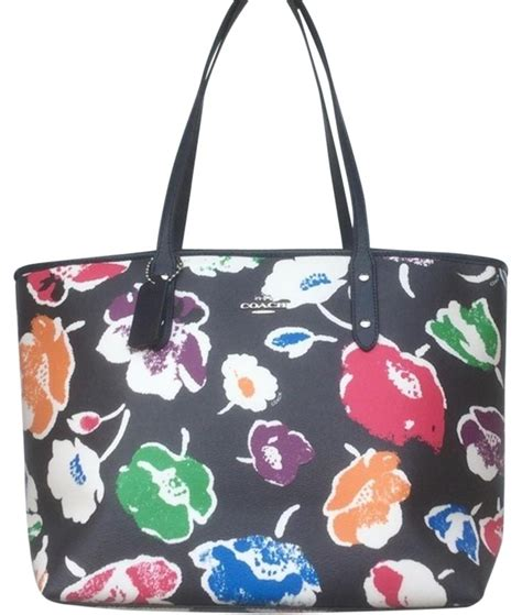Sale Coach Ebanis Rainbow 3323 1 coach sale large wildflower city zip rainbow multicolor tote bag on sale 54 totes on sale