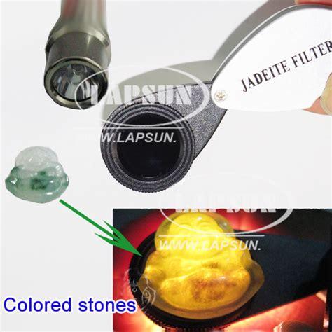 pocket chelsea jadeite color filter testing loupe gems
