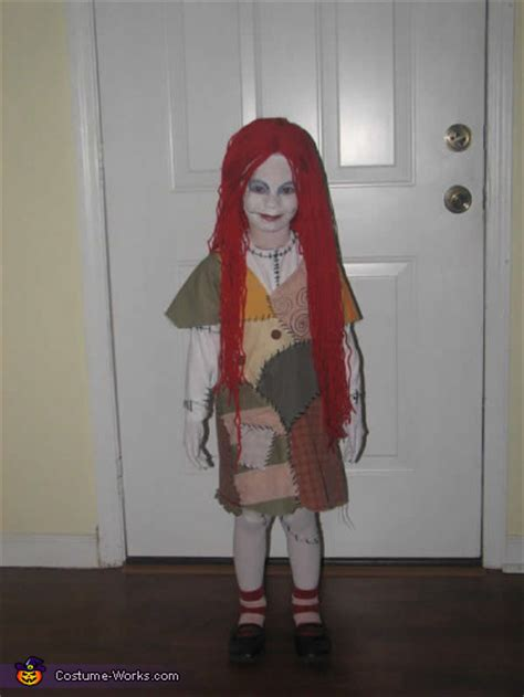 homemade sally nightmare  christmas costume