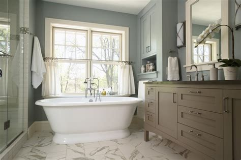 traditional bathroom design house and home serene escape master bath traditional bathroom