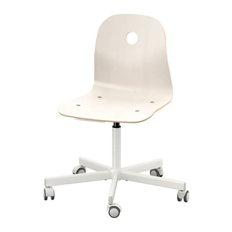 v 197 gsberg sporren swivel chair white ikea