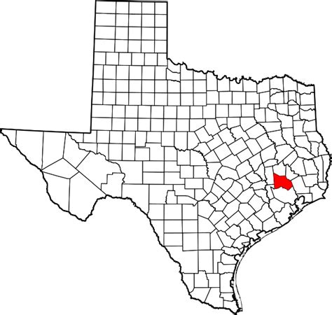 montgomery county texas map file map of texas highlighting montgomery county svg wikimedia commons