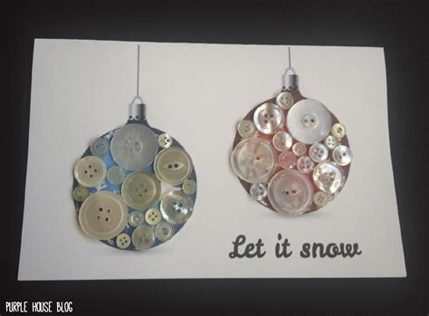 diy button holiday cards    downloadable