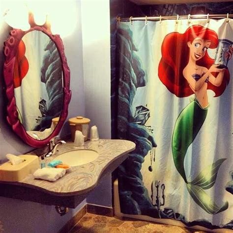 mermaid themed bathroom decor kid