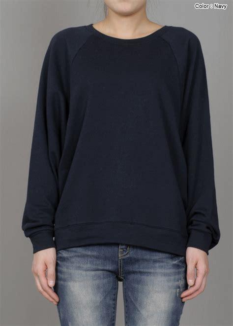 Navy Sweatshirt Sweater navy sweatshirt womens clothing