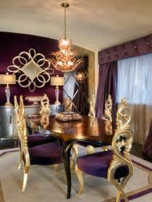 Gold Dining Room Giy Goth It Yourself March Theme Post Purple