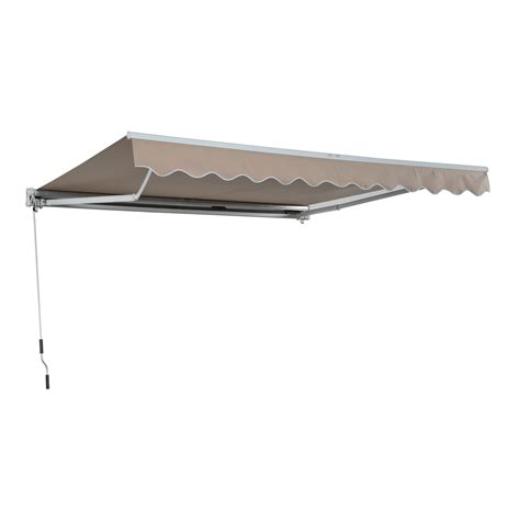 outsunny awning door canopy shelter front back outdoor sun