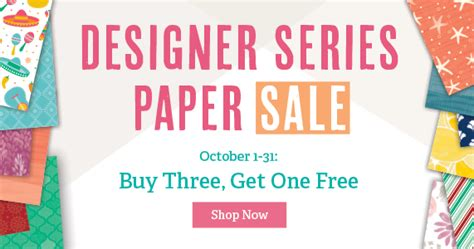 Get Fabulous At The Shop 3 by Beth S Paper Cuts Buy 3 Get 1 Free The Great Paper Sale