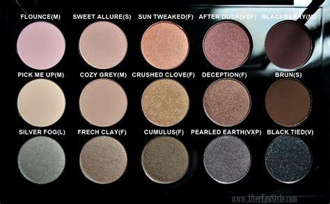 Eyeshadow X15 Cool Neutral mac cool neutral eyeshadow x 15 palette alter ego style