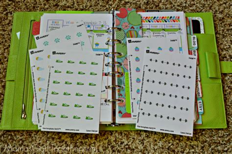 build a planner how to make your own planner stickers tutorial mama s