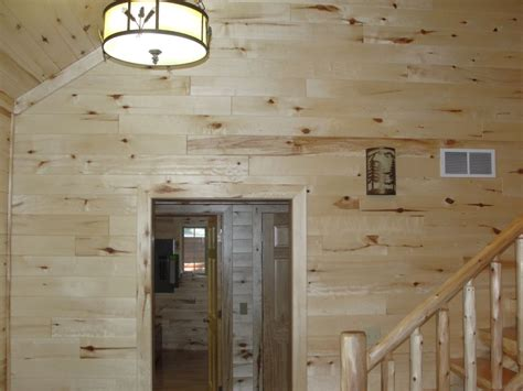 Wainscoting Tongue And Groove by Knotty Pine Paneling Tongue Groove Woodhaven Log