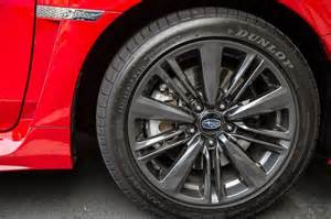 Subaru Wrx Tires What Of Wheels Come Stock On A 2015 Subaru Wrx Which
