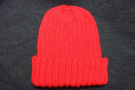 basic knitted hat pattern knitting patterns galore basic ribbed baby child hat