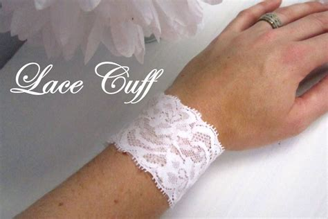 how to make lace jewelry diy fashion diy lace cuff bracelet
