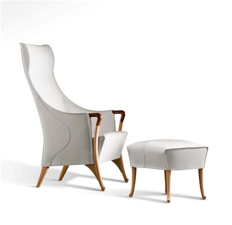 Saddle Armchair by Giorgetti Progetti Saddle Leather 64240 Armchair Deplain
