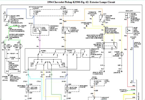 94 chevy k1500 ignition switch wiring diagram 94 chevy