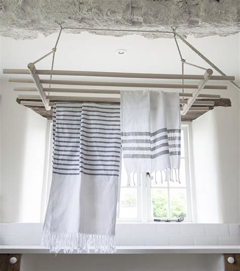 store wooden ceiling dryer