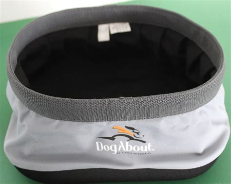 portable water bowl new bowl for food water portable folding travel hiking cing dogabout ebay