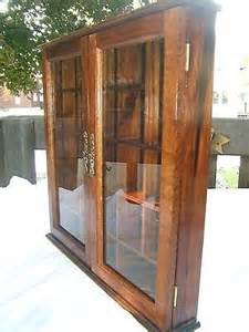 Hanging Curio Display Cabinet Wall Hanging Wood Cabinet