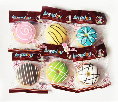 breadou donuts jumbo squishy original packaging 183 uber