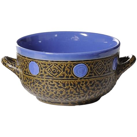 Bowl With Handle southwest soup bowl with handle always azul pottery