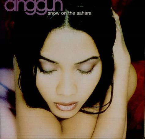 anggun snow on the anggun snow on the uk promo 5 quot cd single xpcd2368
