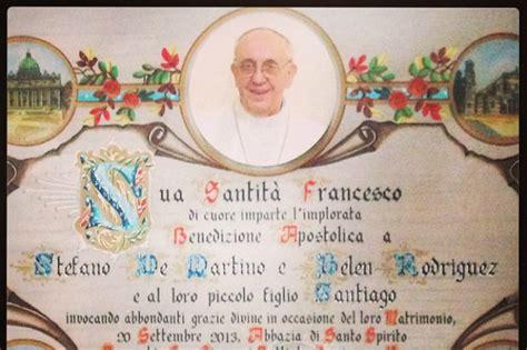 ufficio pergamene della elemosineria apostolica boccaccia come richiedere la benedizione di papa