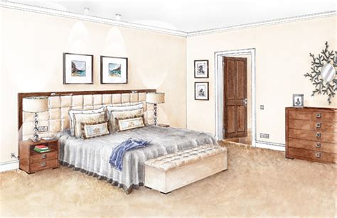 Drawing Room Bed Design Foundation Dezin Decor Sketch Of Bedroom