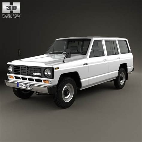 1980 nissan patrol nissan patrol 160 1980 3d model models nissan and